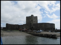 Carrickfergus - the lone castle I visited