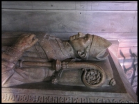 Close up of a Bishop's tomb