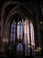 The amazing glass of Sainte-Chapelle
