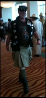 Oh the Utilikilt was out in numbers.  Unless you are from Scotland, don't wear a kilt!