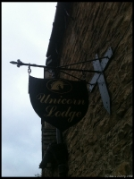 The Sign above the Unicorn Pub