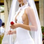 funny_pictures_Hottest_Wedding_Gown
