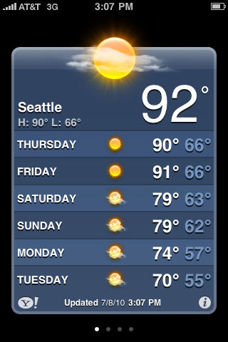 seattle iweather