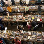 book sale from above