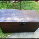Pottery barn chest (2)