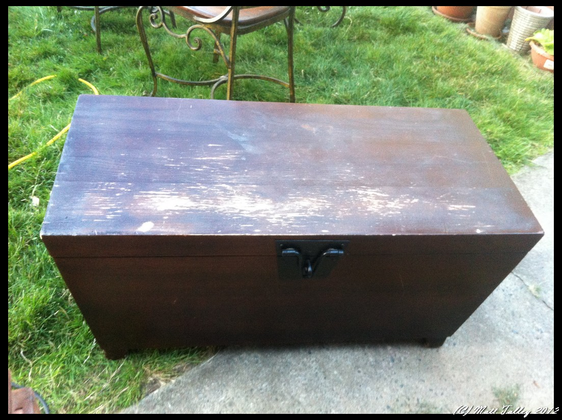 Pottery Barn Blanket Chest Refinish Re