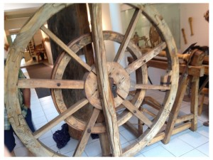 French Lathe wheel 2014