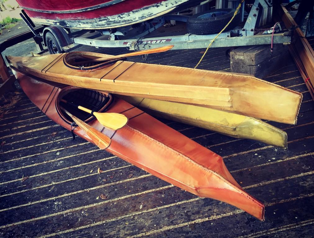 Building a Skin-On-Frame Kayak – Driven Outside
