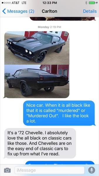 Matt Talley_TxtMsg_Classic Car Rebuild_2016_1