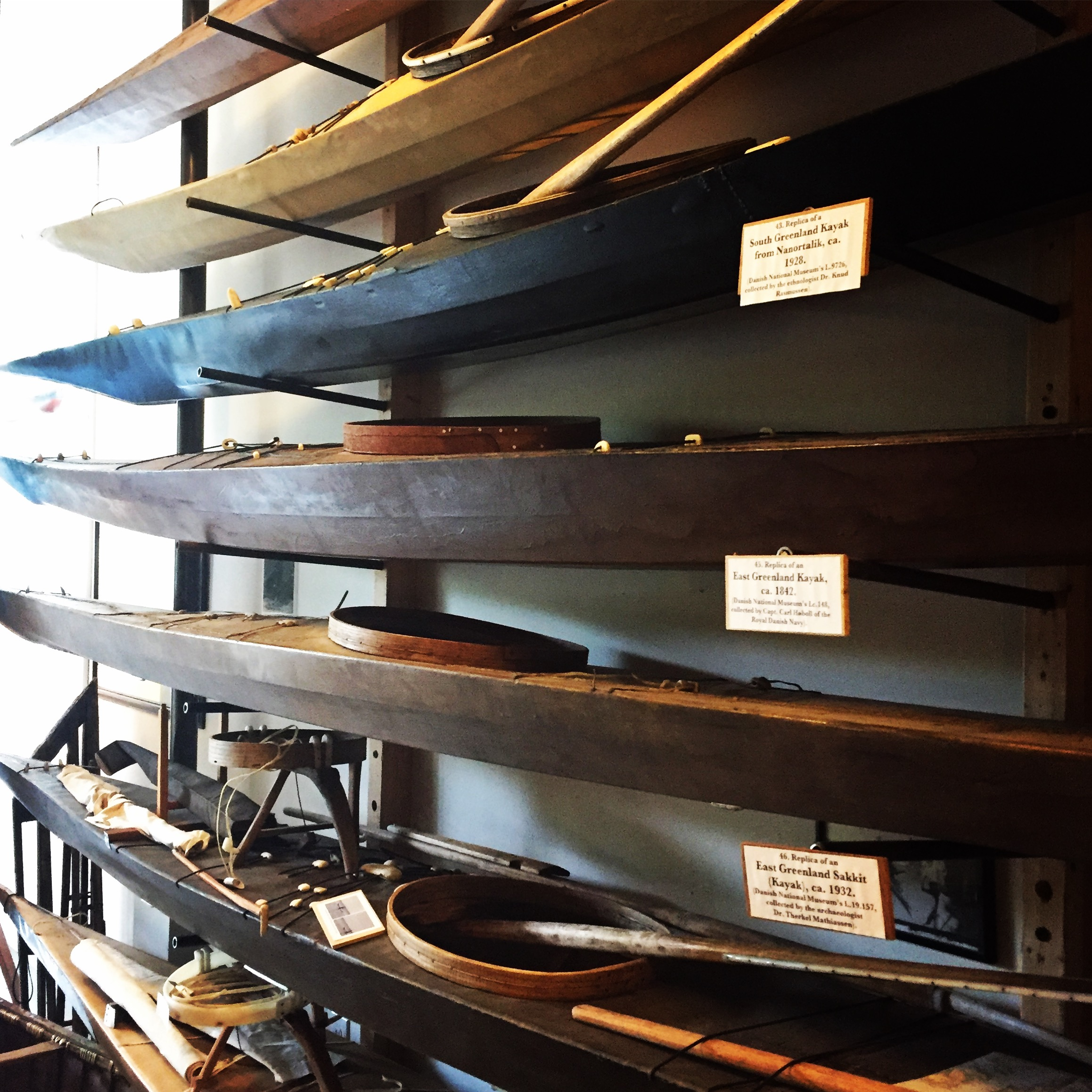 Visit to a Kayak Museum in Portland – Driven Outside