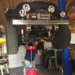 Matt Talley Changing oil_07-2017 Jeep (2)